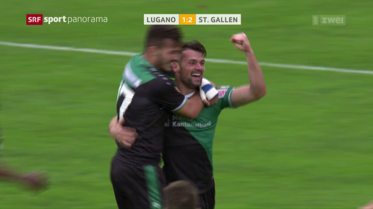Bunjakus letzter Treffer für St. Gallen