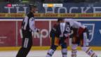 Video «Zug gewinnt strafenreiche Partie gegen Lugano» abspielen