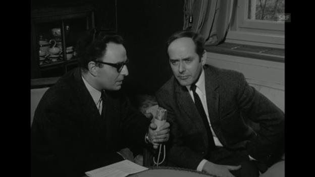 Video «Peter Loeffler wird neuer Direktor am Schauspielhaus (Interview, 23.1.1968)» abspielen
