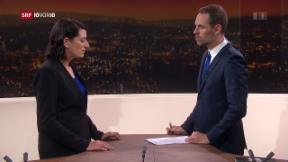 Video «FOKUS: Studiogespräch mit SRF-Korrespondentin Karen Naundorf» abspielen
