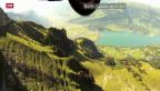 Video «Walenstadt SG: Neues Mekka der Wingsuit-Springer» abspielen