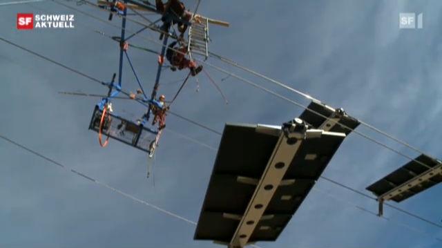 Erster Solarskilift der Welt