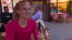 Video «Tennis: Viktorija Golubic im Porträt» abspielen
