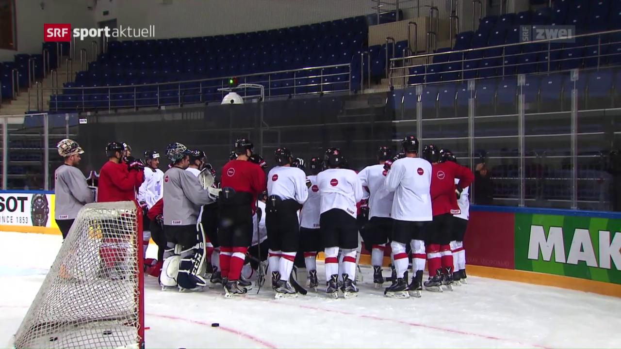 Die Hockey-Nati vor dem 1. WM-Spiel