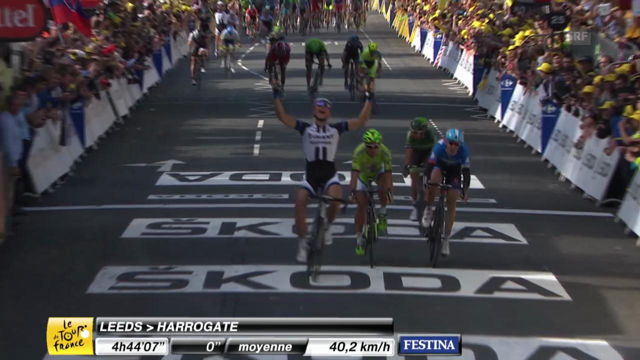 Tour de France: Rennbericht 1. Etappe
