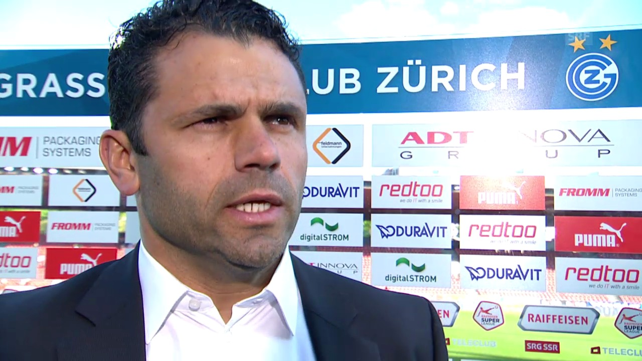Fussball: Super League, 32. Runde, GC - YB, Interview mit Uli Forte