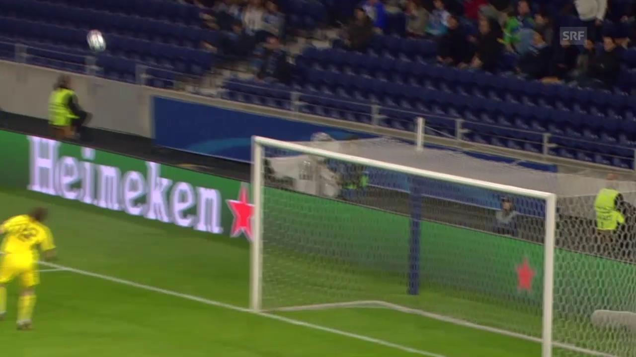 Fussball: Champions League 2015/16, 5. Runde, Lyon - Gent