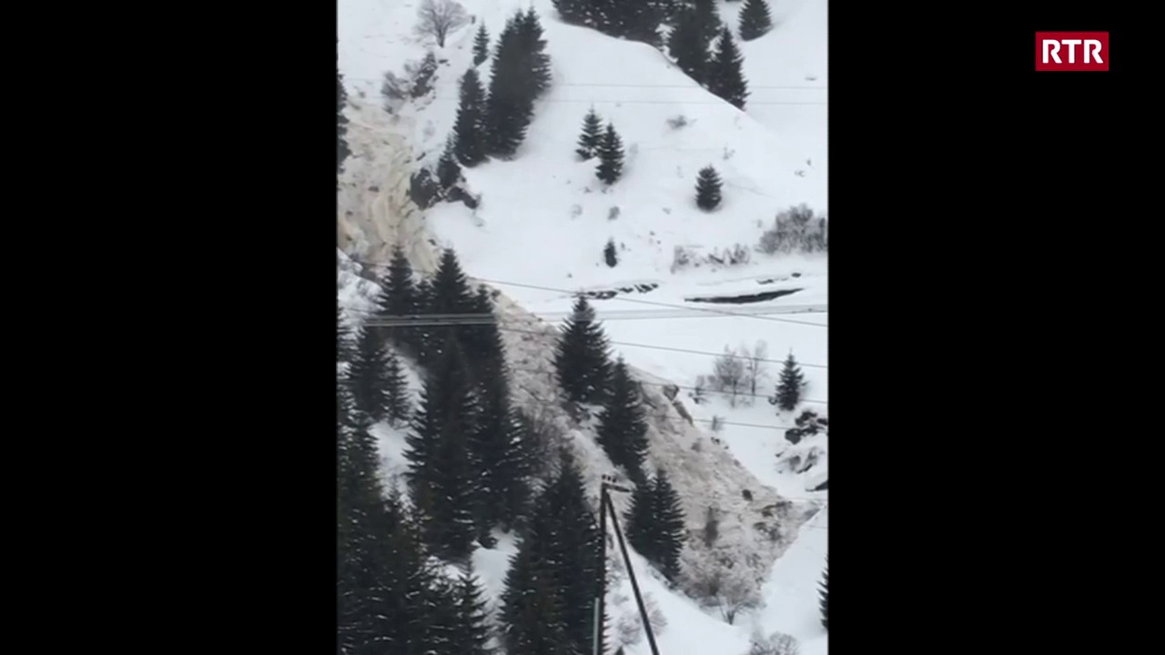 Lavina Matergia en Val Medel