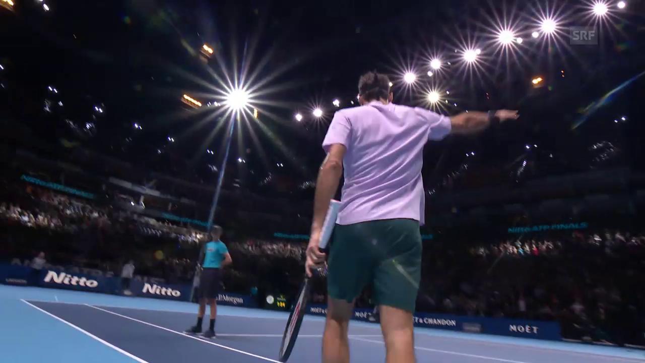 Federer bezwingt auch Cilic