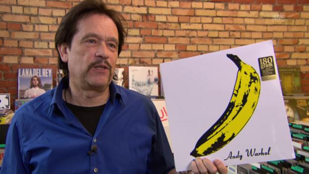 Video «Pedro zeigt seine Plattencover für die Ewigkeit» abspielen