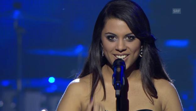 Video ««ESC-Entscheidungsshow»: Auftritt von Mélanie René» abspielen