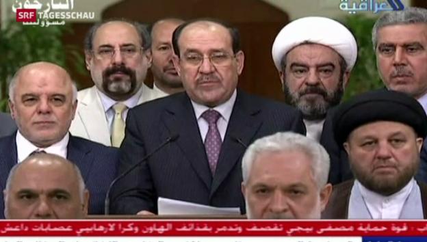 Video «Europäische Waffen gegen IS-Miliz und Rücktritt al-Malikis» abspielen