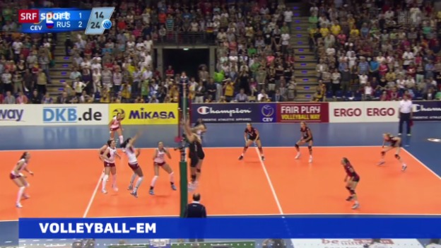 Video «News: Volleyball-EM der Frauen» abspielen
