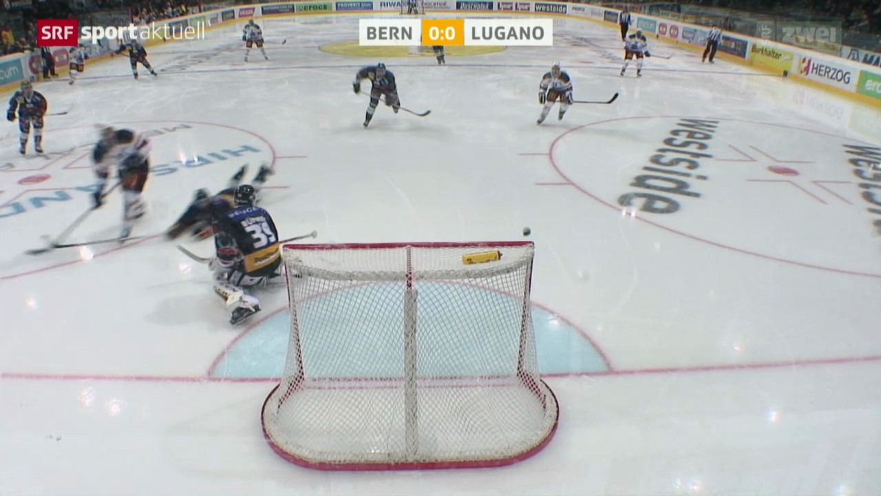 Eishockey: Bern - Lugano