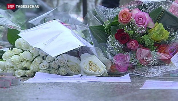 Video «Offizieller Trauertag in Frankreich» abspielen