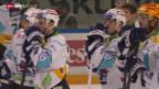 Video «Eishockey: NLA, Lausanne - Lakers («sportaktuell»)» abspielen