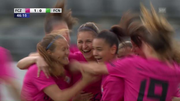 Video «Frauen-Cupfinal: FCZ holt gegen Neunkirch den 12. Titel» abspielen