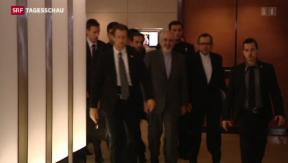 Video «Noch kein Durchbruch in Genf» abspielen