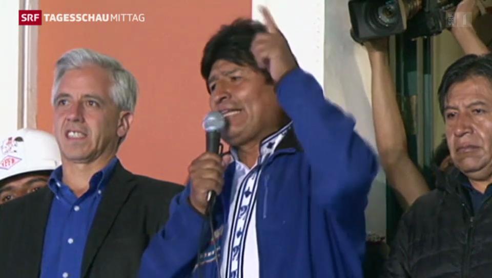 Morales regiert weiter