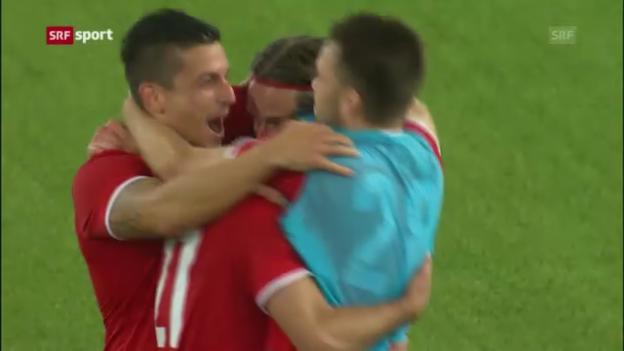 Video «Fussball: Thun - Partizan («sportaktuell»)» abspielen
