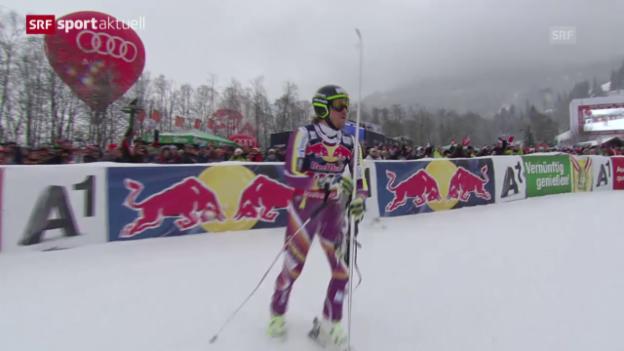 Video «Ski: Weltcup, Abfahrt Männer Kitzbühel» abspielen