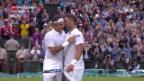 Video «Federer gewinnt in Wimbledon» abspielen