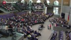 Video «Der deutsche Bundestag zur Schuldenkrise» abspielen