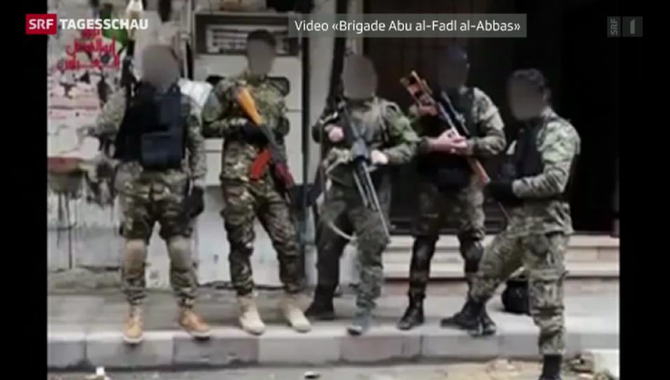 Ausländische Dschihadisten kämpfen in Syrien
