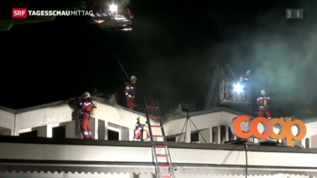 Video «Brände in Waadt und Zürich» abspielen