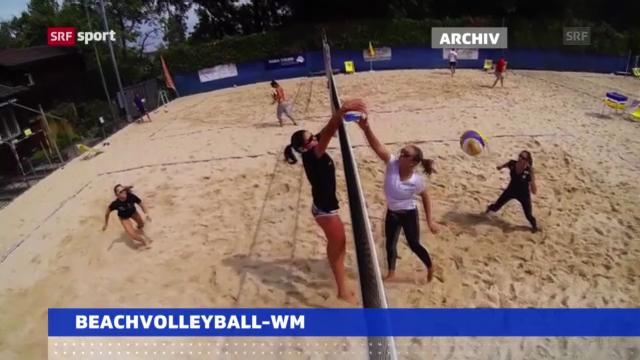 Start zur Beachvolley-WM («sportaktuell»)