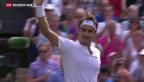 Video «Federer zum zehnten Mal im Wimbledonfinale» abspielen