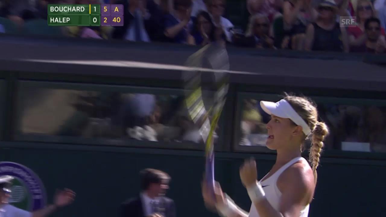 Tennis: Zusammenfassung Wimbledon-Halbfinals der Frauen
