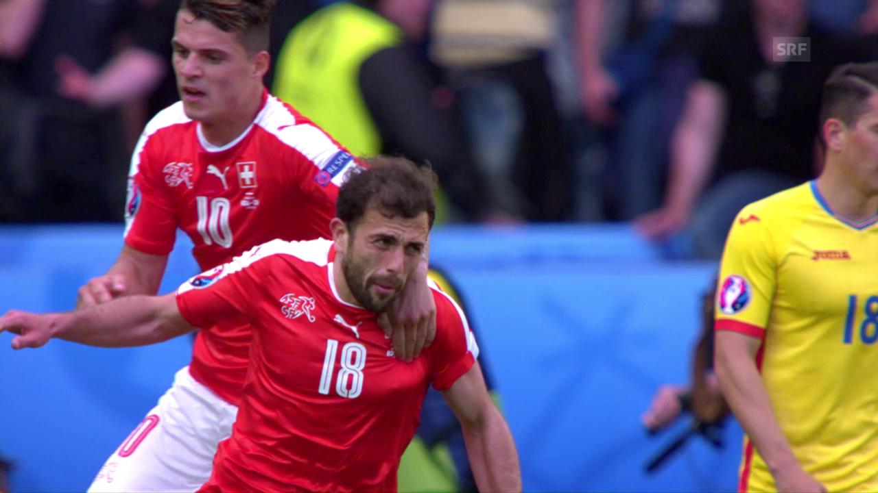 Schweizer Punktgewinn gegen Rumänien