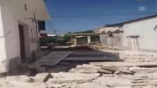 Video «Deutliche Schäden auf der Insel Lesbos (unkomm.)» abspielen