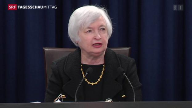 Video «US-Leitzinsen bleiben tief» abspielen