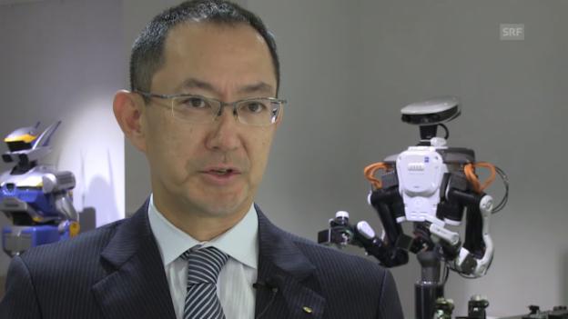 Video «Tadahiro Kawada über Roboter als Freunde und Helden» abspielen