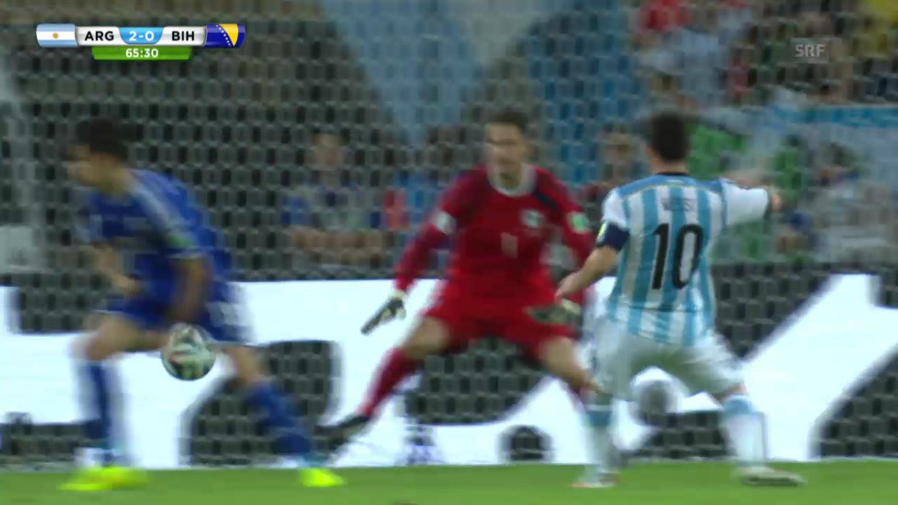 FIFA WM 2014: Messi trifft gegen Bosnien