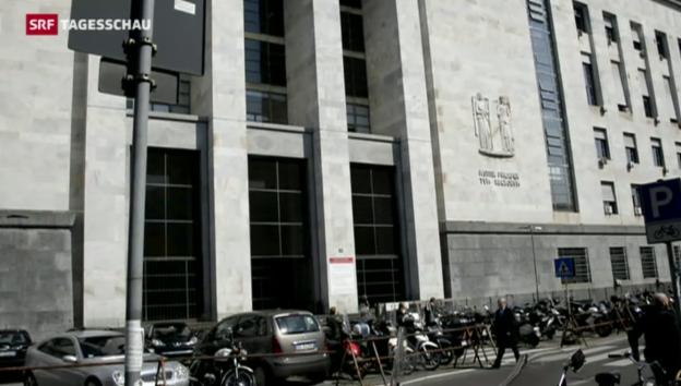 Video «Angeklagter erschiesst in Mailand seinen Richter» abspielen