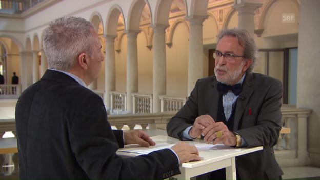 Video «Theo Wehner über Belastung» abspielen