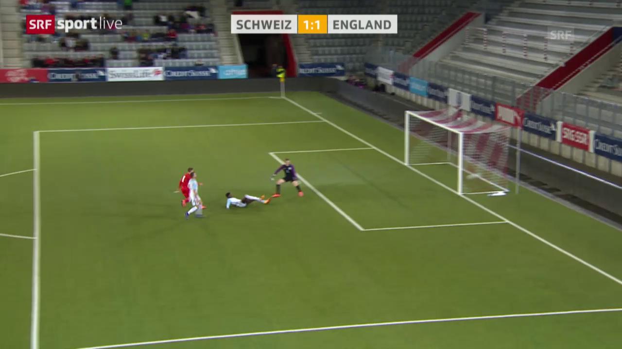 Schweiz trotzt England Remis ab
