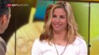 Video «Das Studiogespräch mit Ester Ledecka» abspielen