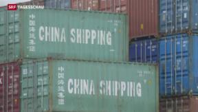 Video «Schweiz und China vertiefen wirtschaftliche Zusammenarbeit» abspielen