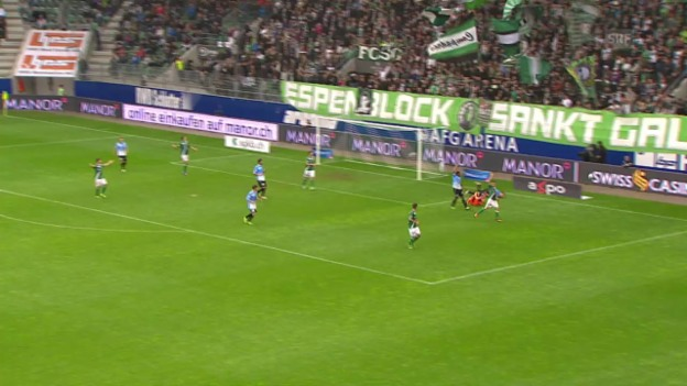 Video «Zusammenfassung St. Gallen - Aarau («sportpanorama»)» abspielen