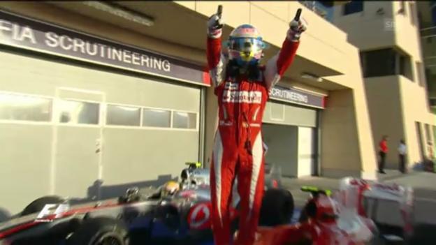 Video «Alonso: Rekordsieger in Bahrain» abspielen