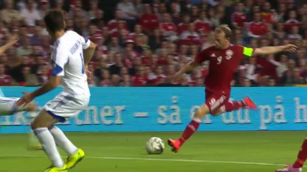 Video «Fussball: EM-Quali, Dänemark-Armenien» abspielen
