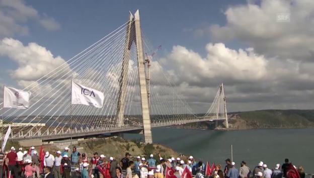 Video «Dritte Verbindung zwischen Asien und Europa eröffnet» abspielen
