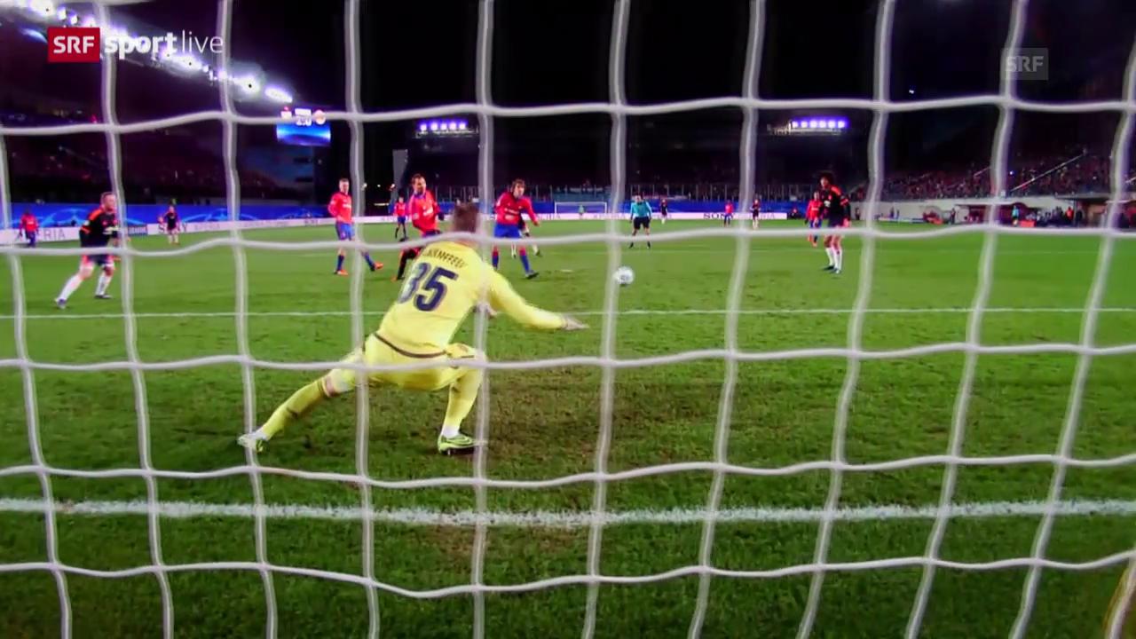 Fussball: CL, ZSKA Moskau - Manchester United