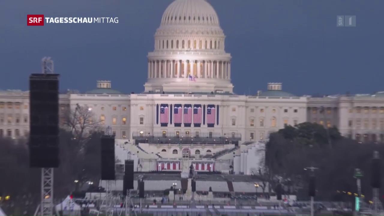 Inauguration von Donald Trump kostet gegen 200 Millionen Dollar