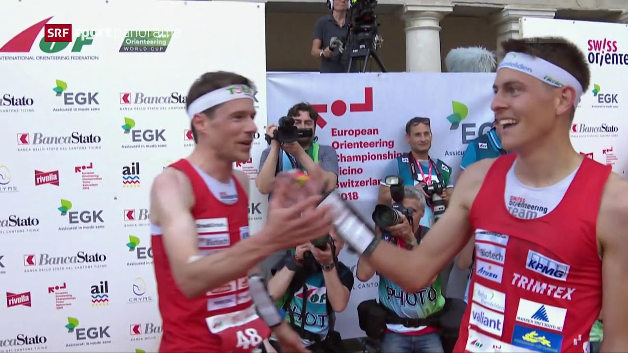 Drei Schweizer Medaillen im EM-Sprint