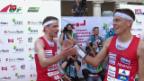 Video «Drei Schweizer Medaillen im EM-Sprint» abspielen